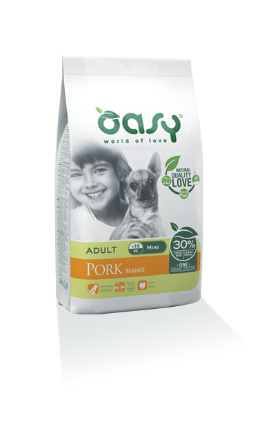 Oasy Adult one Protein Mini Maiale 2,5 Kg