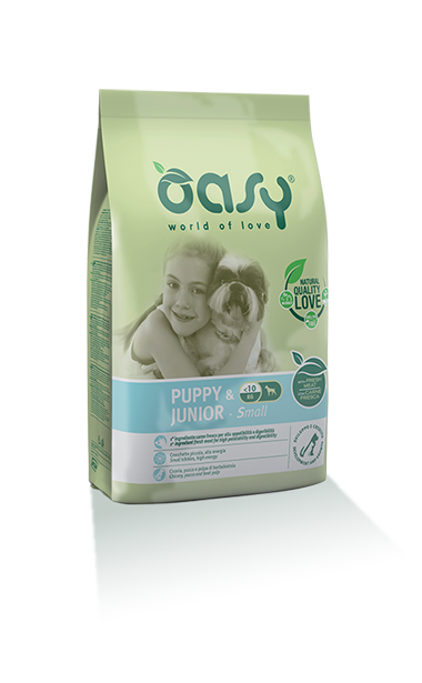 Oasy Puppy&junior Small Pollo 3 Kg