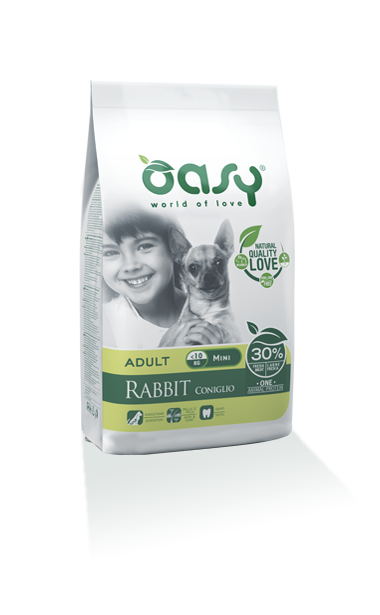 Oasy Adult one Protein Mini Coniglio 2,5 Kg