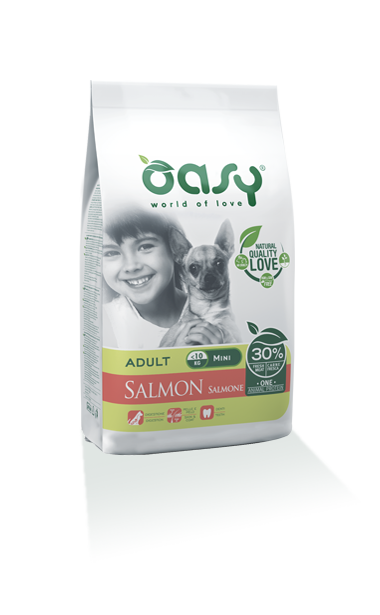Oasy Adult one Protein Mini Salmone 2,5 Kg