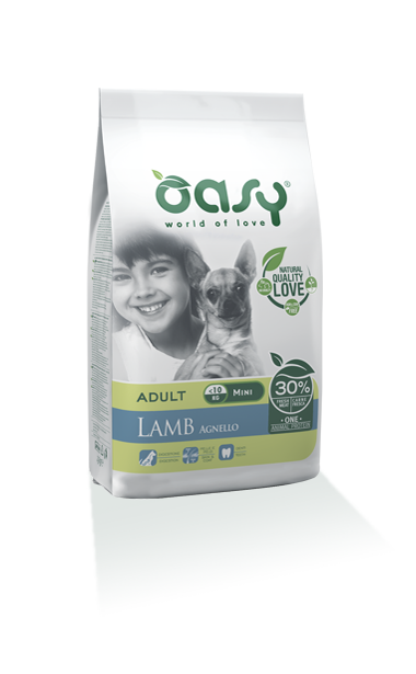 Oasy Adult one Protein Mini Agnello  2,5 Kg