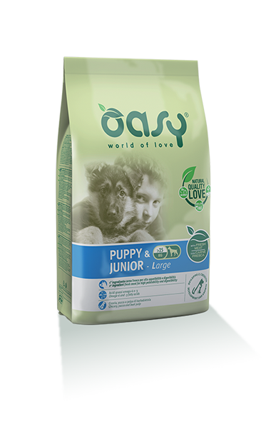 Oasy Puppy&junior Large Breed Pollo 12 Kg