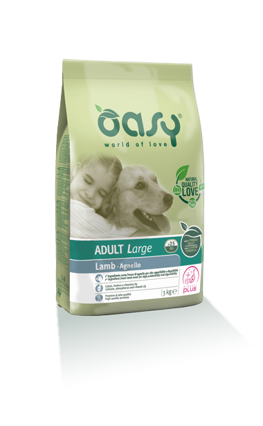 Oasy Adult Large Breed Agenello 3 kg