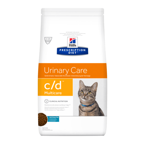 Hill's Prescription Diet c/d Multicare Feline with Ocean Fish 1,5 Kg