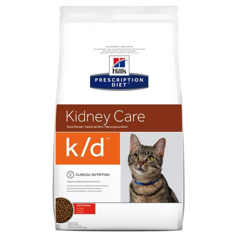 Hill's Prescription Diet k/d Feline with Chicken 1,5 Kg