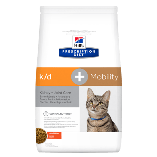Hill's Prescription Diet k/d+Mobility Feline with Chicken 2 Kg