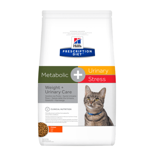 Hill's Prescription Diet Metabolic + Urinary Stress Feline 1,5 Kg