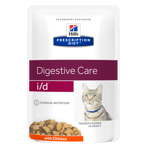 Hill's Prescription Diet i/d Feline Con Pollo 85 gr x 12 Bustine