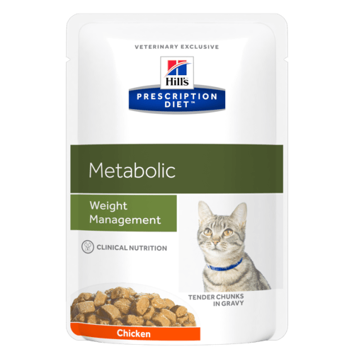 Hill's Prescription Diet Metabolic Feline Pollo  85 gr x 12