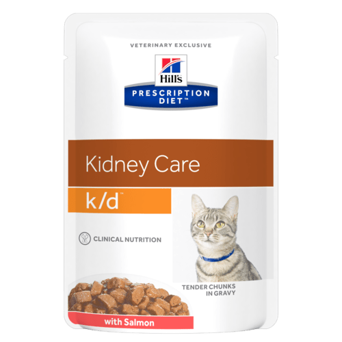 Hill's Prescription Diet k/d Feline Salmone 12 x 85 gr