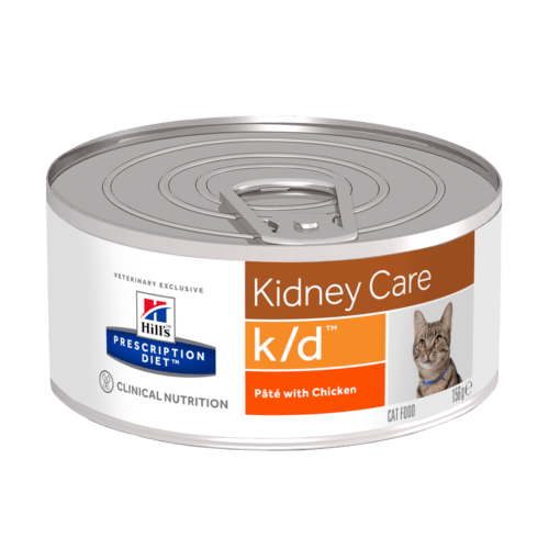 Hill's Prescription Diet k/d Feline Patè Pollo 156 gr
