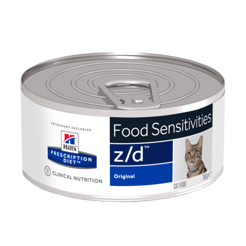Hill's Prescription Diet Feline z/d ultra Allergenic 156 gr