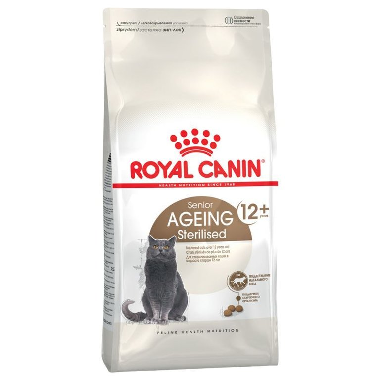 Royal Canin Senior Ageing Sterilised +12 Anni Sacco 4 kg