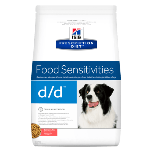 Hill's Prescription Diet Canine d/d Salmone & Riso  2 kg