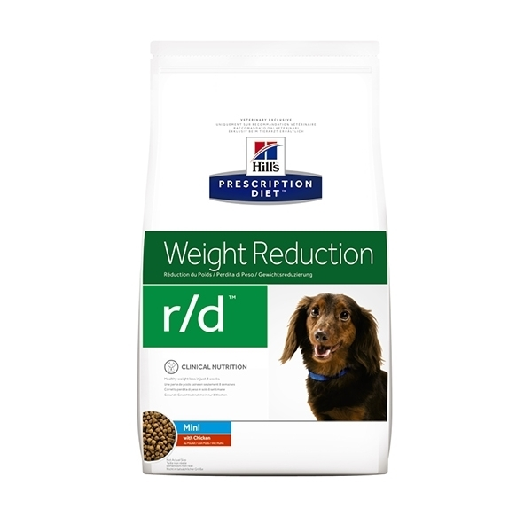 Hill's Prescription Diet Canine r/d Per Cani di Taglia Mini 1,5 kg