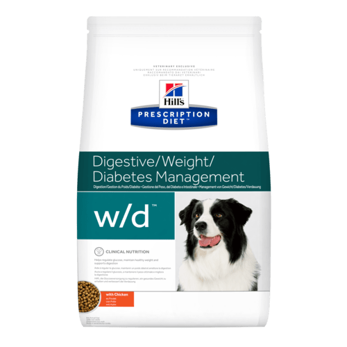 Hill's Prescription Diet Canine w/d Diabetes Managment 1,5 kg