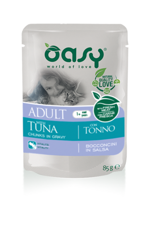 Oasy Cat Adult Con Tonno 85 GR