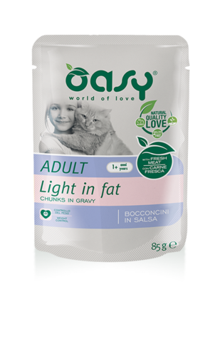 Oasy Cat Adult Light Con Pollo 85 GR