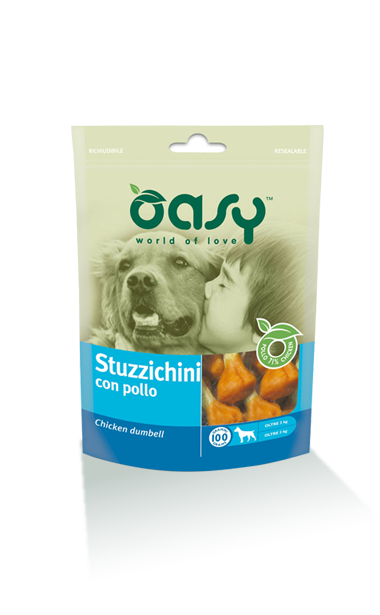 Oasy Dog Snack Stuzzichini Con Pollo 100 gr