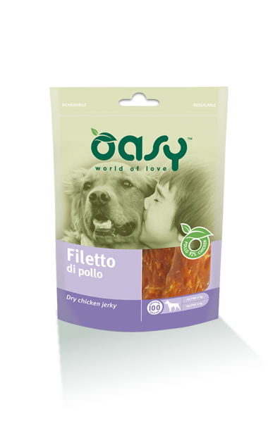 Oasy Dog Snack Filetto Di Pollo 100 gr