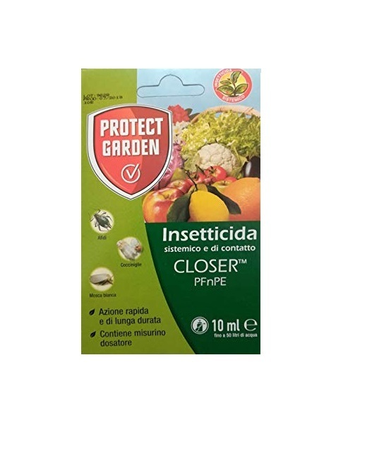 BAYER GARDEN CLOSER PFnPE INSETTICIDA SISTEMICO E DI CONTATTO 10 ML